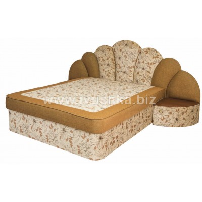 Кровать В-1,5x2 с тумбой