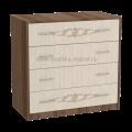Комод с 4-мя ящиками с рисунком