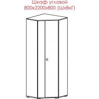 Шкаф угловой (НМП №2)