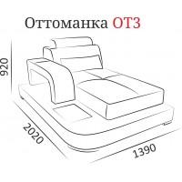 Оттоманка ОТ3 ( Гранд 1Б-08 )