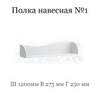Полка №1 (Группа 10 фасад ЛДСП с рисунком)