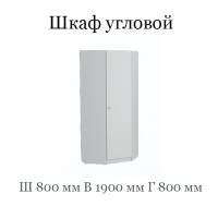 Шкаф угловой (Группа 10 фасад ЛДСП с рисунком)