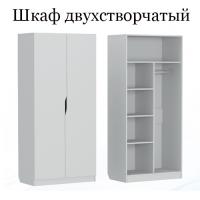 Шкаф двухстворчатый (группа 6/л)