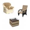 Кресла, пуфы и столы