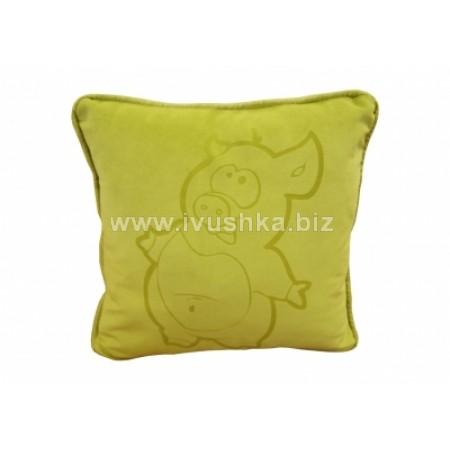 Подушка декоративная (рисунок лазером)